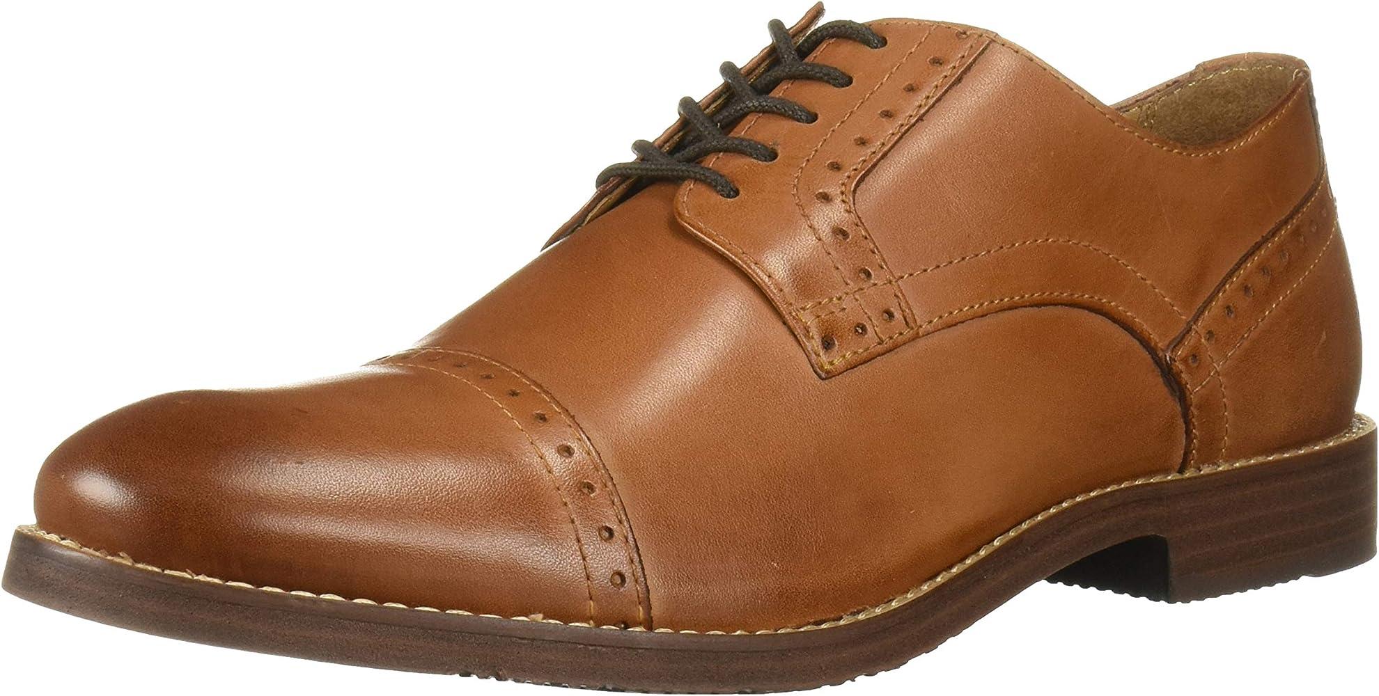 fed3faf6e66db Amazon.com | Nunn Bush Men's Middleton Cap Toe Oxford, Cognac, 13 ...