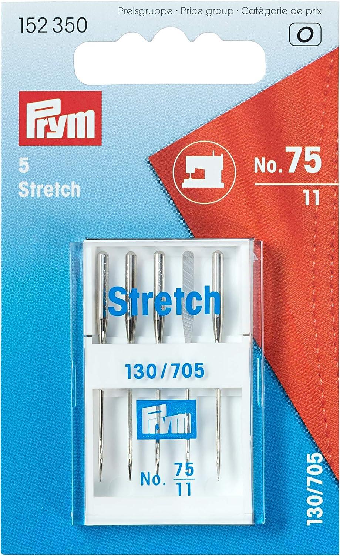Prym – Agujas para máquina de Coser, Metal, Plata, 9,3 x 5,7 x 0,7 ...