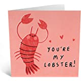 You/'re my lobster Funny sweet Anniversary Card for him or her