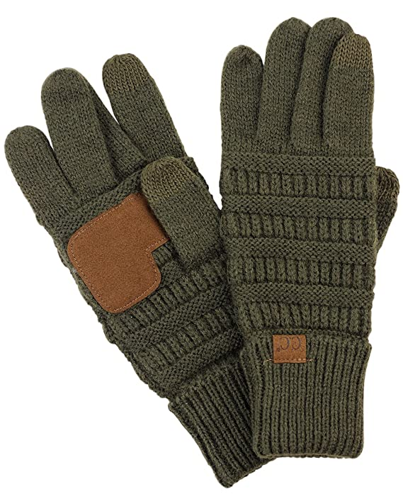 cc-unisex-cable-knit-winter-warm-anti-slip-touchscreen-texting-gloves by cc