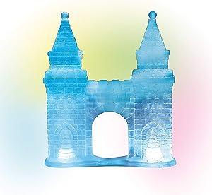 Department 56 Village Cross Product Accessories Ice Castle Gate Lit Figurine, 6.96 Inch, Multicolor