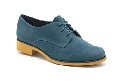 03044e568 Clarks Womens Casual Clarks Hamble Glass Nubuck Shoes In Green ...