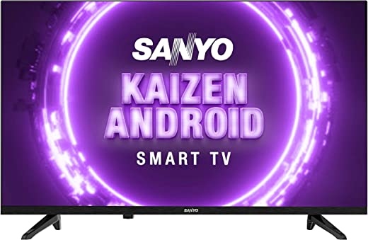 32 inches LED TV Sanyo Kaizen Series HD Ready Smart Certified Android IPS LED TV XT-32A170H