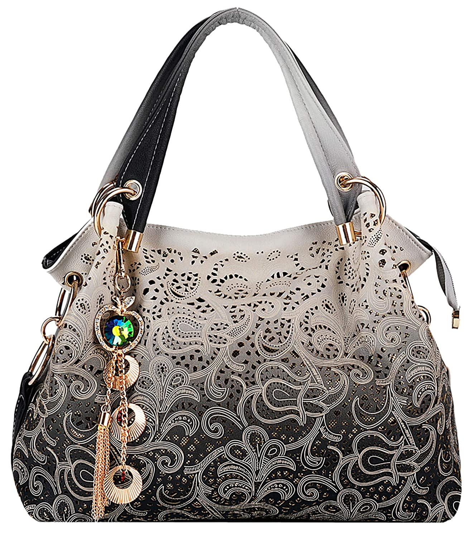 Coofit Sac femme cuir Sac /à main femme cuir Sac /à bandouli/ère femme Cabas femme Sac portes epaule Womens shoulder bag