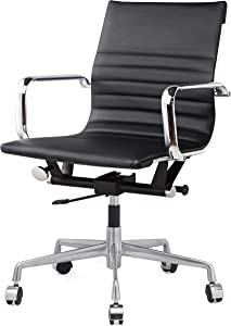 MEELANO -N Office Chair, One Size, Black