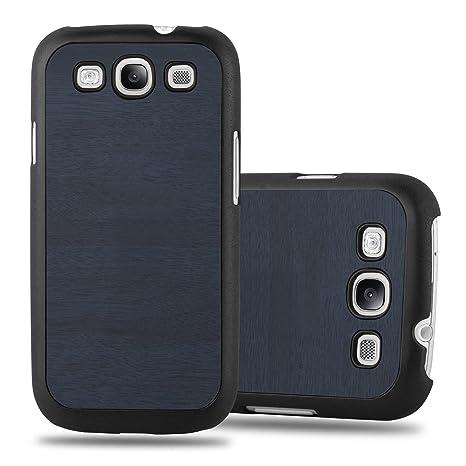 Cadorabo Funda para Samsung Galaxy S3 / S3 Neo en Woody Azul ...