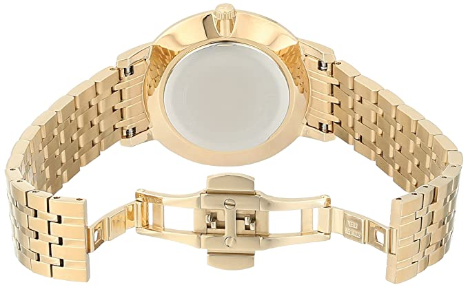 Amazon.com: Bulova Womens Diamonds Quartz and Stainless-Steel Casual Watch, Color:Gold-Toned (Model: 97P123): Watches