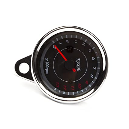 amazon com universal led backlight motorcycle speedometer meter rh amazon com GM Tachometer Wiring Diagram Boat Tachometer Wiring Diagram