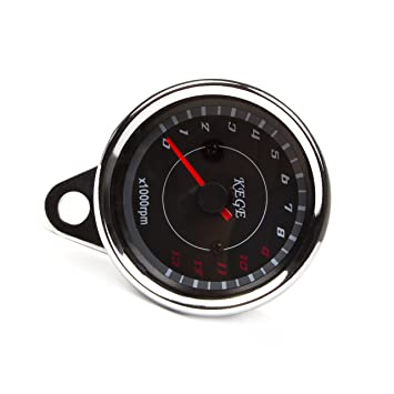 Swell Universal Led Backlight Motorcycle Speedometer Meter Tachometer Gauge Wiring 101 Capemaxxcnl