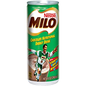 MILO Chocolate Nutritional Energy Drink 24, 8 fl. oz. Cans