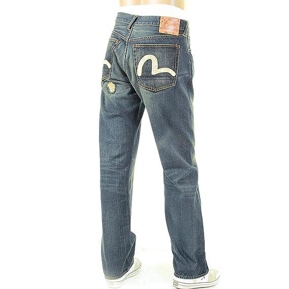 10770eca57fd Evisu repair shop EA04MJE03 D123i denim jeans EVIS0738  Amazon.co.uk   Clothing