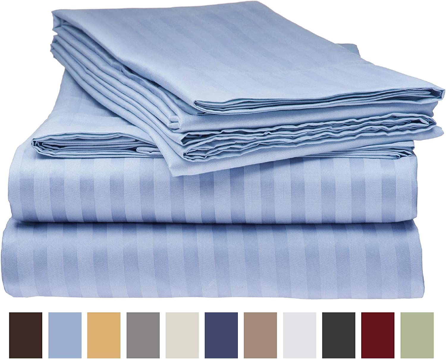 Bordeaux Italian Bed Linen Max Color Fitted Sheet with Corner french size small double