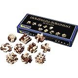 Coffrets 10 mini casse-têtes en bois - Jeux Philos