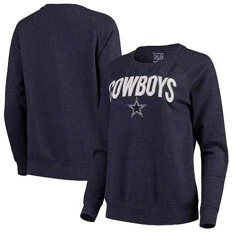Licensed Sports Apparel Dallas Football Women s Colbie Fleece Pullover Navy  Sweatshirt - XL b76f942ce