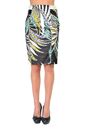 a4cca81d49 Image Unavailable. Image not available for. Color: Just Cavalli Multi-Color Women's  Pencil Skirt US ...