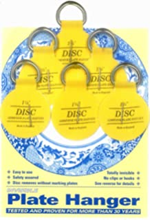 Self Adhesive Plate Hanger Mixed Pack of 10 / Stick on Plate Hanging ...