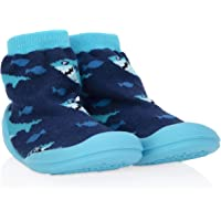 Nuby Sock Shoes, Blue, Small
