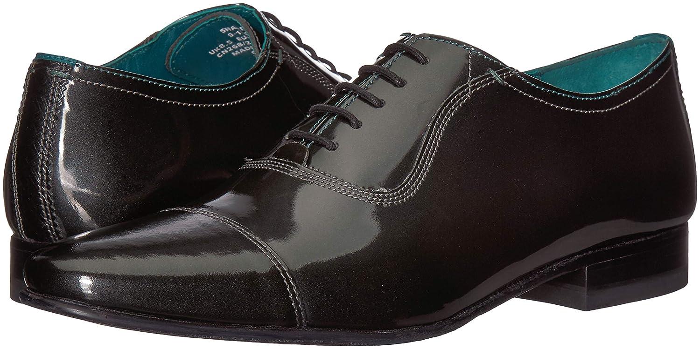 Baker Ted Sharney Men's Leather12 Us OxfordGreymetallic M rWxCodeB