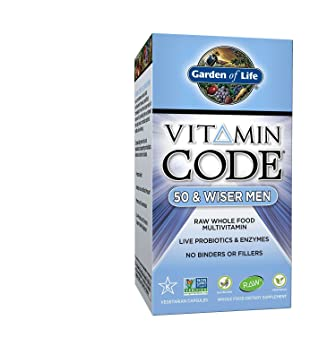 Amazoncom Garden of Life Multivitamin for Men Vitamin Code 50