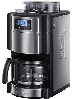 Russell Hobbs 20060-56 Buckingham Grind & Brew - Cafetera de filtro con molinillo de