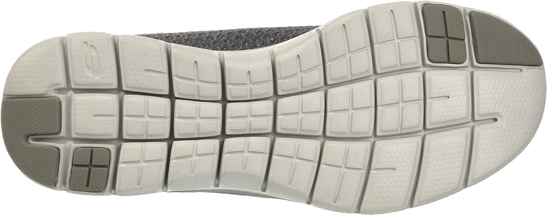 Skechers Flex Advantage 2.0 - Cravy, Baskets Homme Gris Charcoal