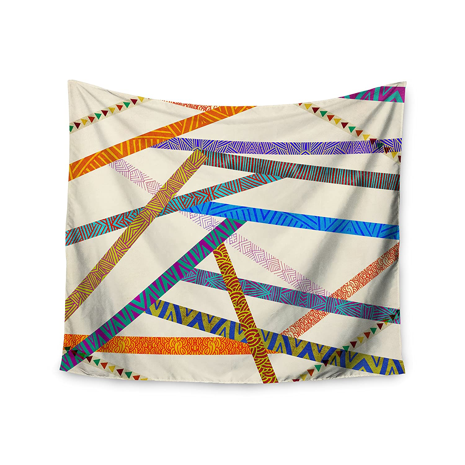 Kess InHouse Pom Graphic Design Unparalleled Wall Tapestry 51 X 60