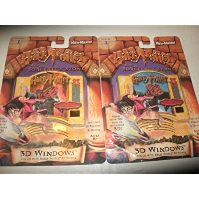 Viewmaster 3D Windows w/ Decoder - Harry Potter & the Sorcerer's Stone - Series 1: Toys & Games
