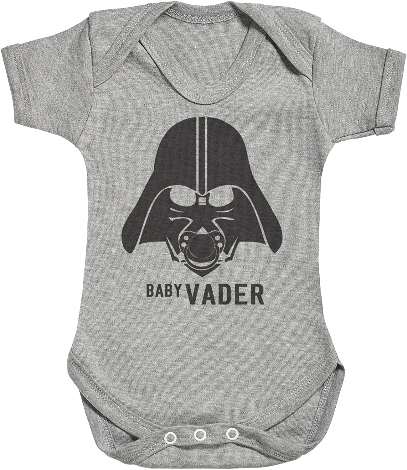 Mens T Shirt /& Baby Bodysuit Zarlivia Clothing Baby Vader /& Daddy Vader Matching Father Baby Gift Set