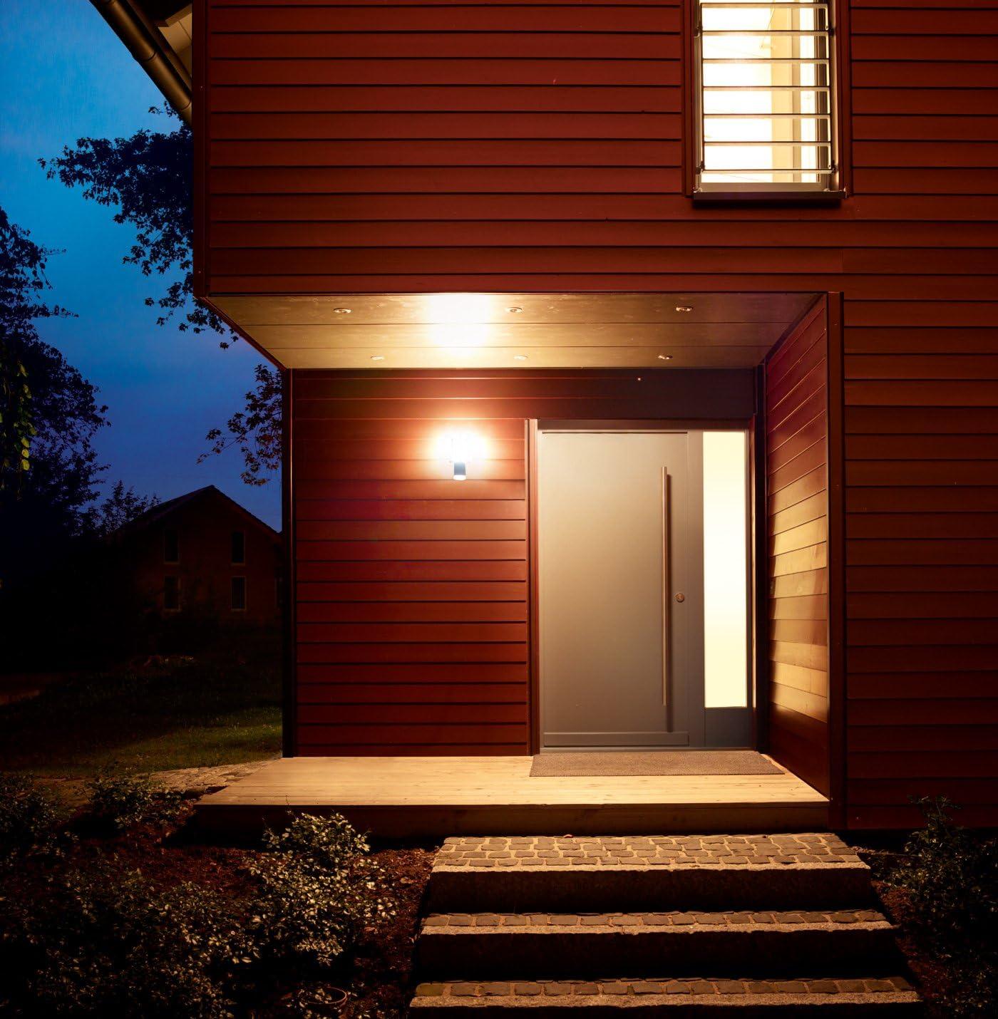 Design faretti muro facciata continua in acciaio inox Up Down illuminazione lampade da giardino Vetro