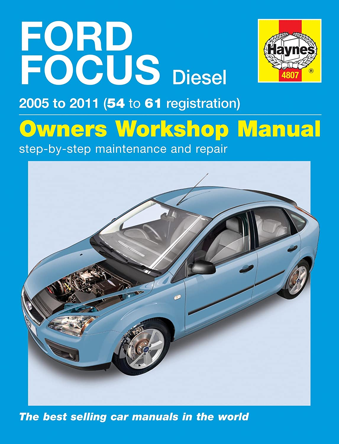 Ford Focus Diesel Service and Repair Manual: 2005-2011 (Haynes Service and  Repair Manuals): Martynn Randall: Amazon.co.uk: Car & Motorbike