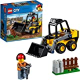 LEGO City Great Vehicles Construction Loader 60219 Building Kit, 2019 (88 Pieces)
