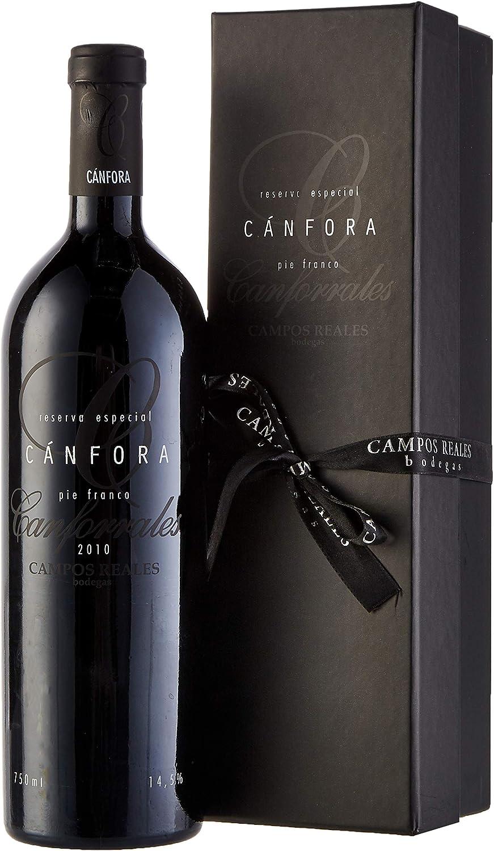 Cánfora Tempranillo Pie Franco con estuche Vino tinto Reserva Especial - 750 ml: Amazon.es: Alimentación y bebidas