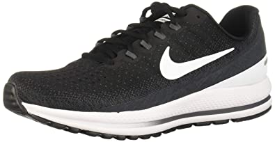 453be36e46413 Nike Men s Air Zoom Vomero 13 Running Shoes-Black White Antracite-7