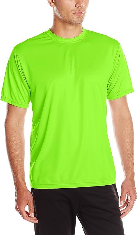 Gildan Mens Wicks Moisture Short Sleeve T-Shirt Kelly Green XX-Large