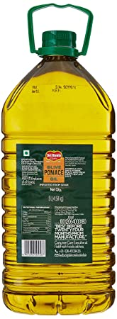 Del Monte Pomace Olive Oil Pet Bottle 5 LTRS