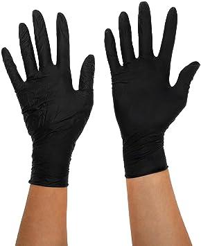 ultima moda vasta gamma Più votati Size X-Large Black Mamba Nitrile Gloves: Amazon.ca: Sports ...