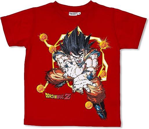 Licencias Camiseta Dragon Ball Rojo 12 años (152 cm): Amazon.es: Ropa y accesorios