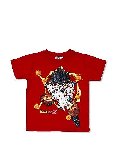 Licencias Camiseta Dragon Ball Rojo 12 años (152 cm)
