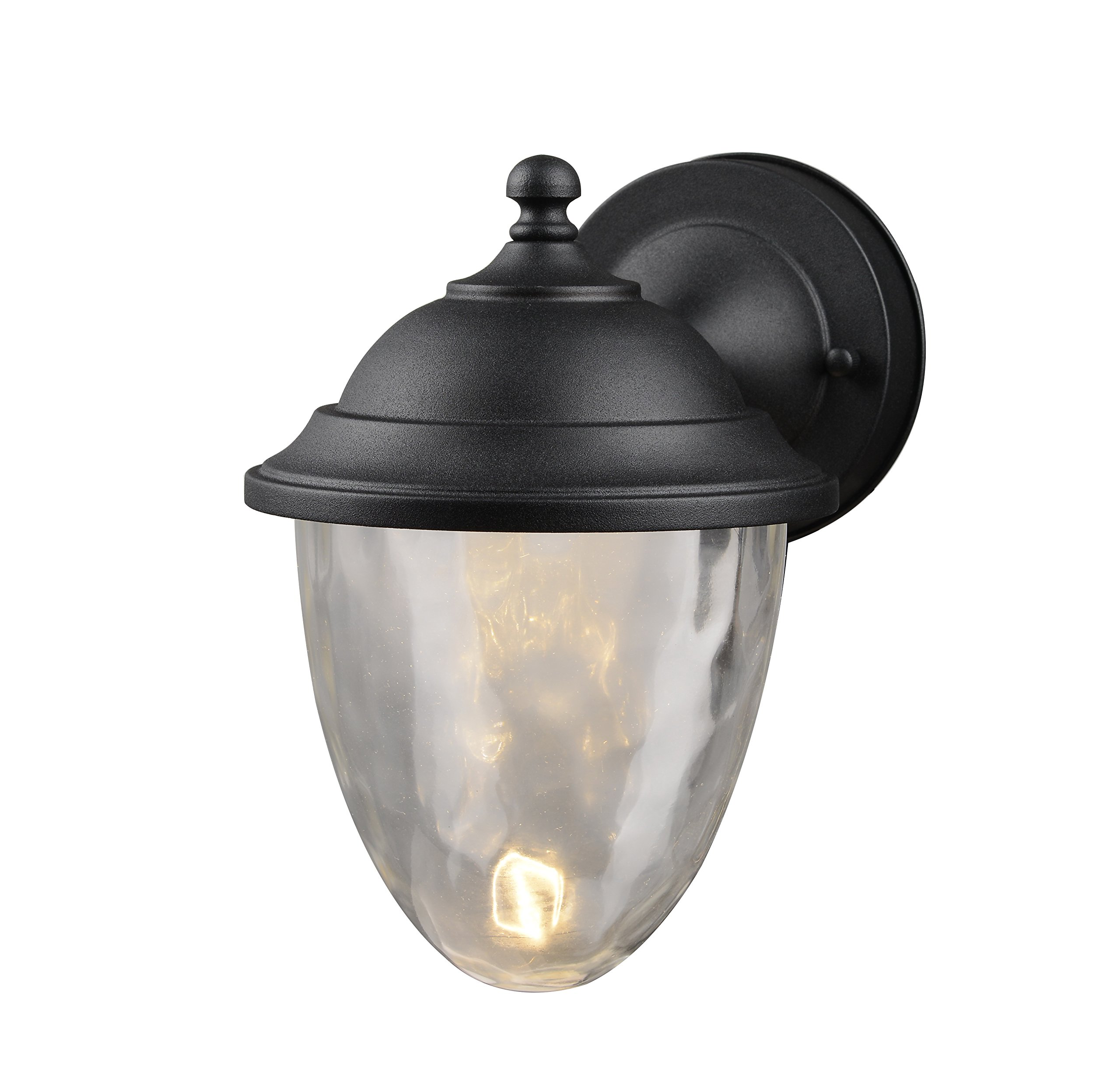 Hardware House 21-9464 Outdoor Large Wall Lantern with Water Glass