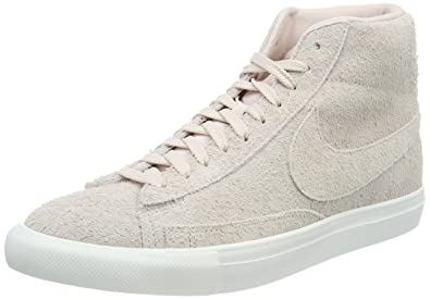 online store eb4a2 cc1e8 ... shoes b90x4767 c8358 b2bbe; spain nike mens blazer mid hi top trainers  beige silt red f792c 1383a