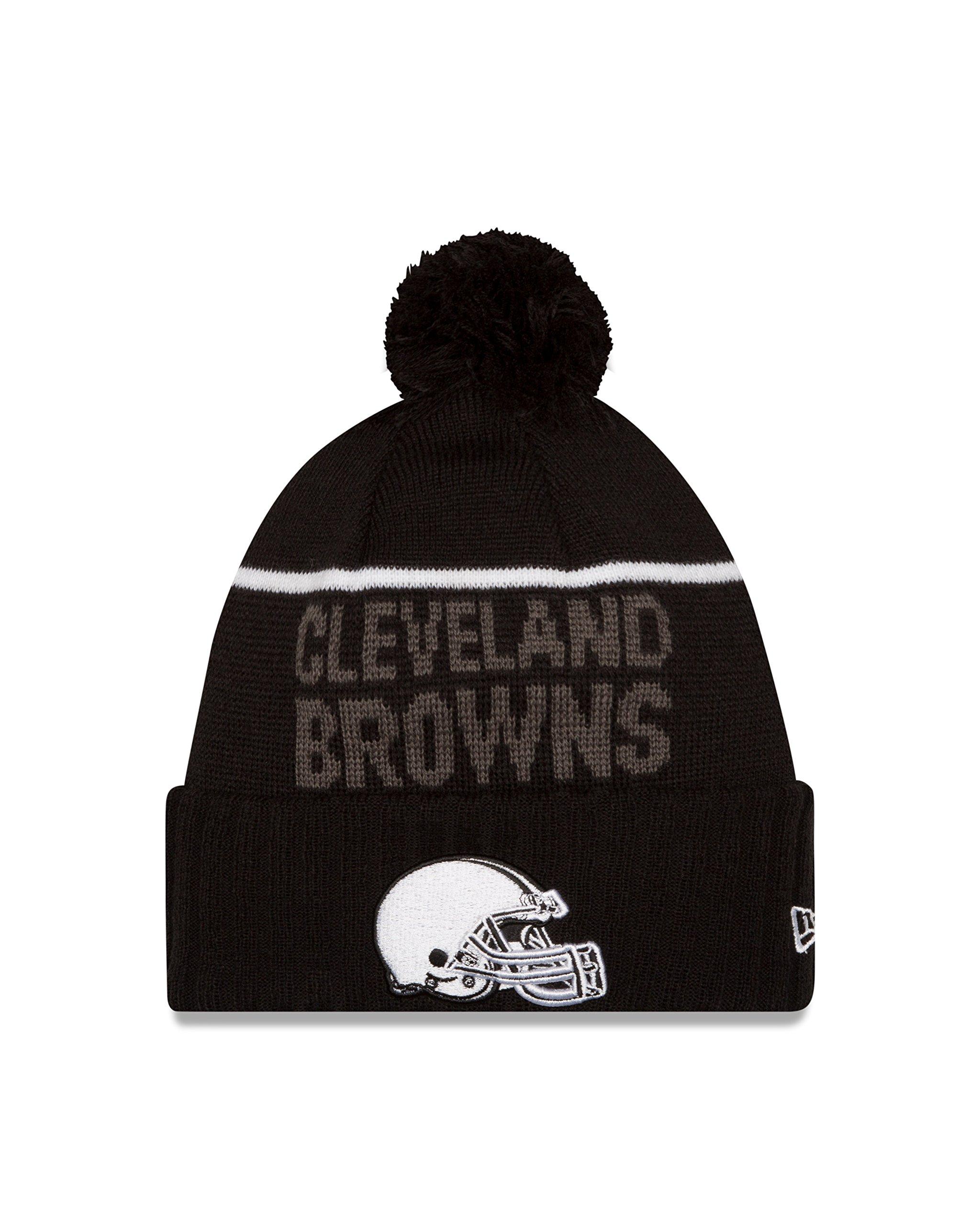 NFL Cleveland Browns 2015 Sport Knit, Black, One Size