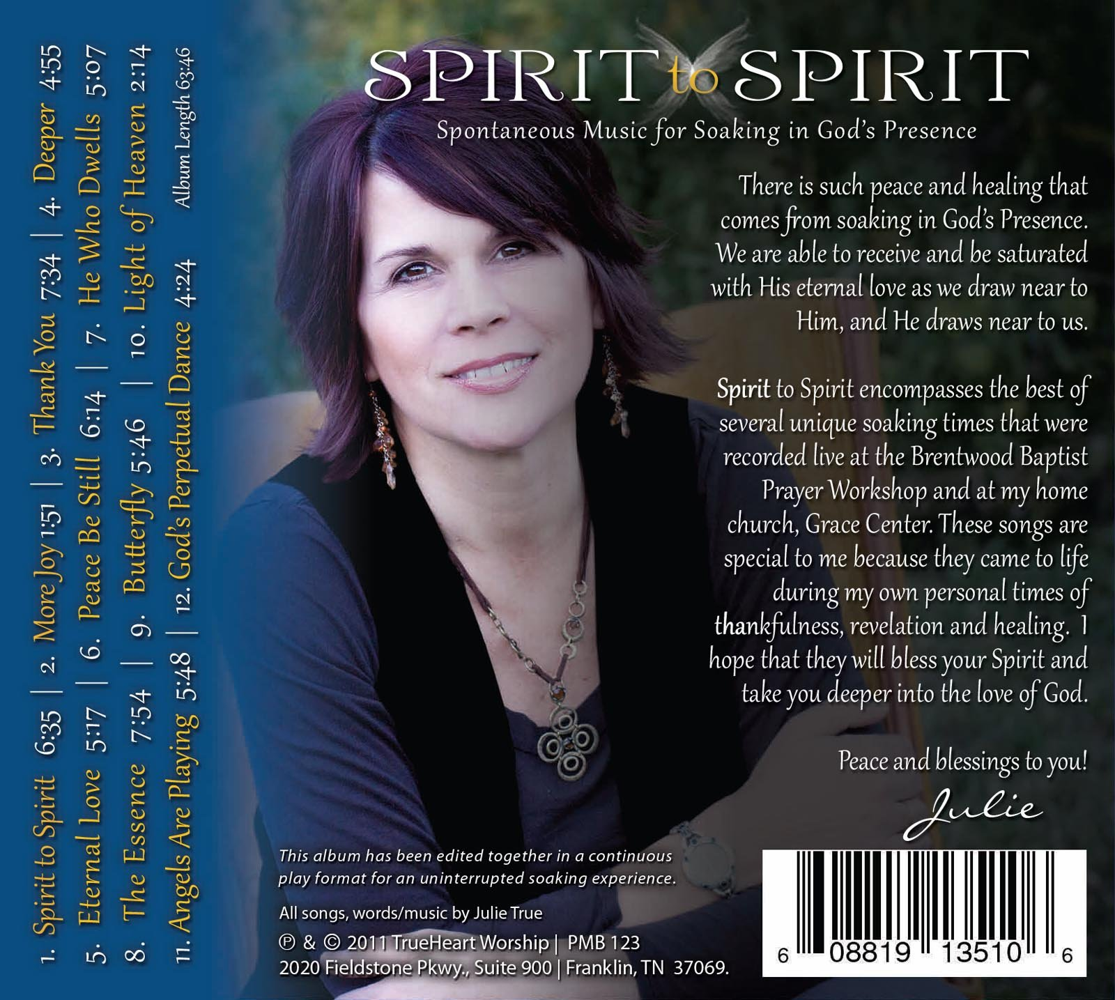 Spirit to Spirit by TrueHeart Worship