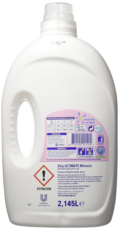 Skip Ultimate Fragancia Mimosín Detergente Líquido 33 lavados