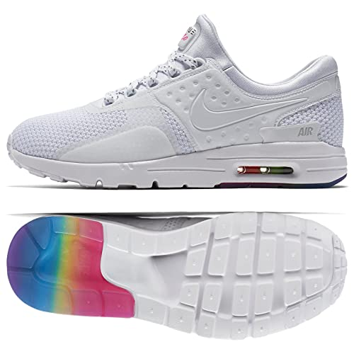 1f869e20b4 Nike W Air Max Zero QS BeTrue LGBT 863700-101 White/Pure Platinum Women's Shoes  Size 8: Amazon.ca: Shoes & Handbags