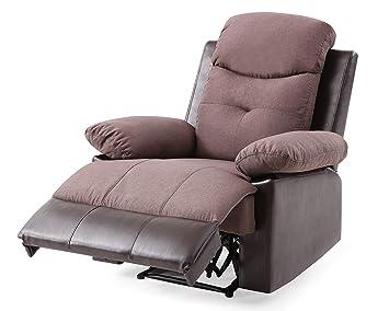 Amazon.com: Glory Furniture Stadium G884-RC Recliner, Coffee ...
