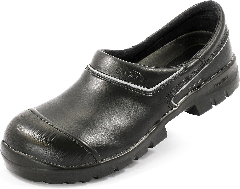 Teak Flex zoccoli LBS chiuso bianco S2 punta in acciaio