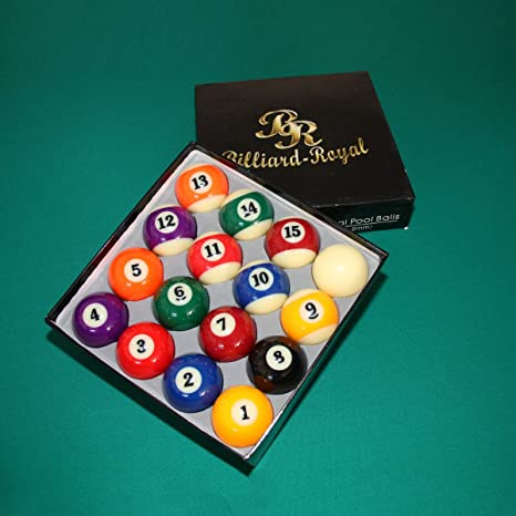 Billiard-Royal Bolas de Billar: Amazon.es: Deportes y aire libre