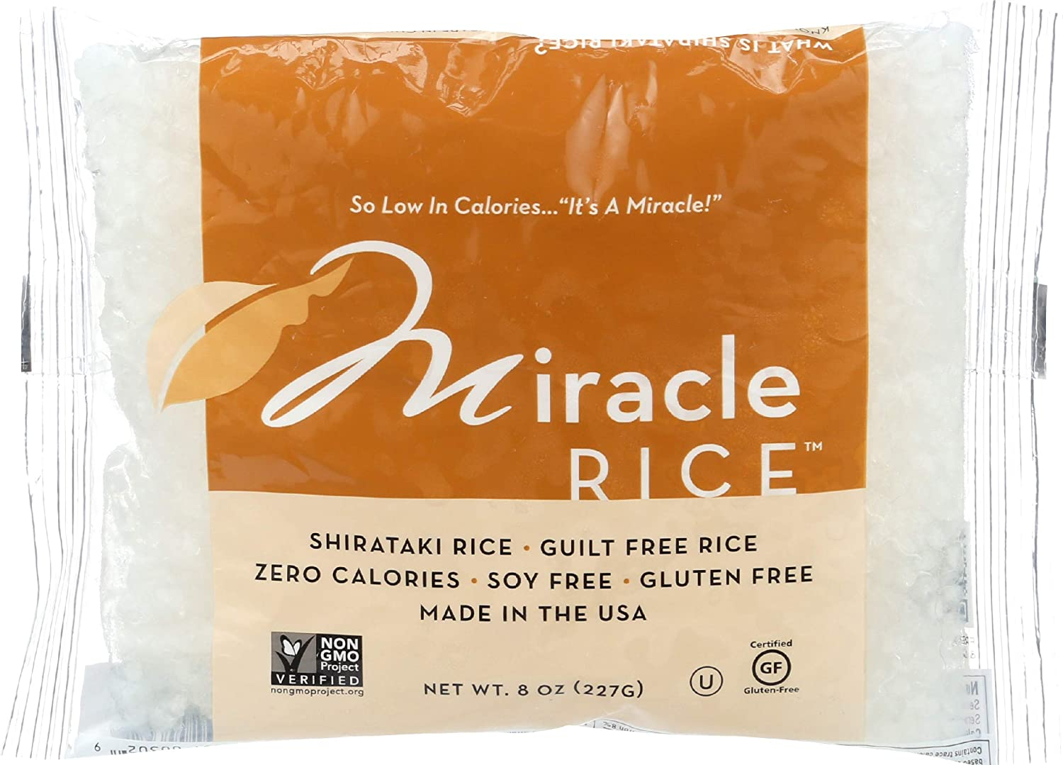Miracle Noodle Shirataki Rice - 8 oz