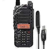 $39 » BAOFENG UV-9G GMRS Radio Waterproof IP67, Outdoors Two Way Radios Long Range Rechargeable,Handheld Dual Band NOAA…