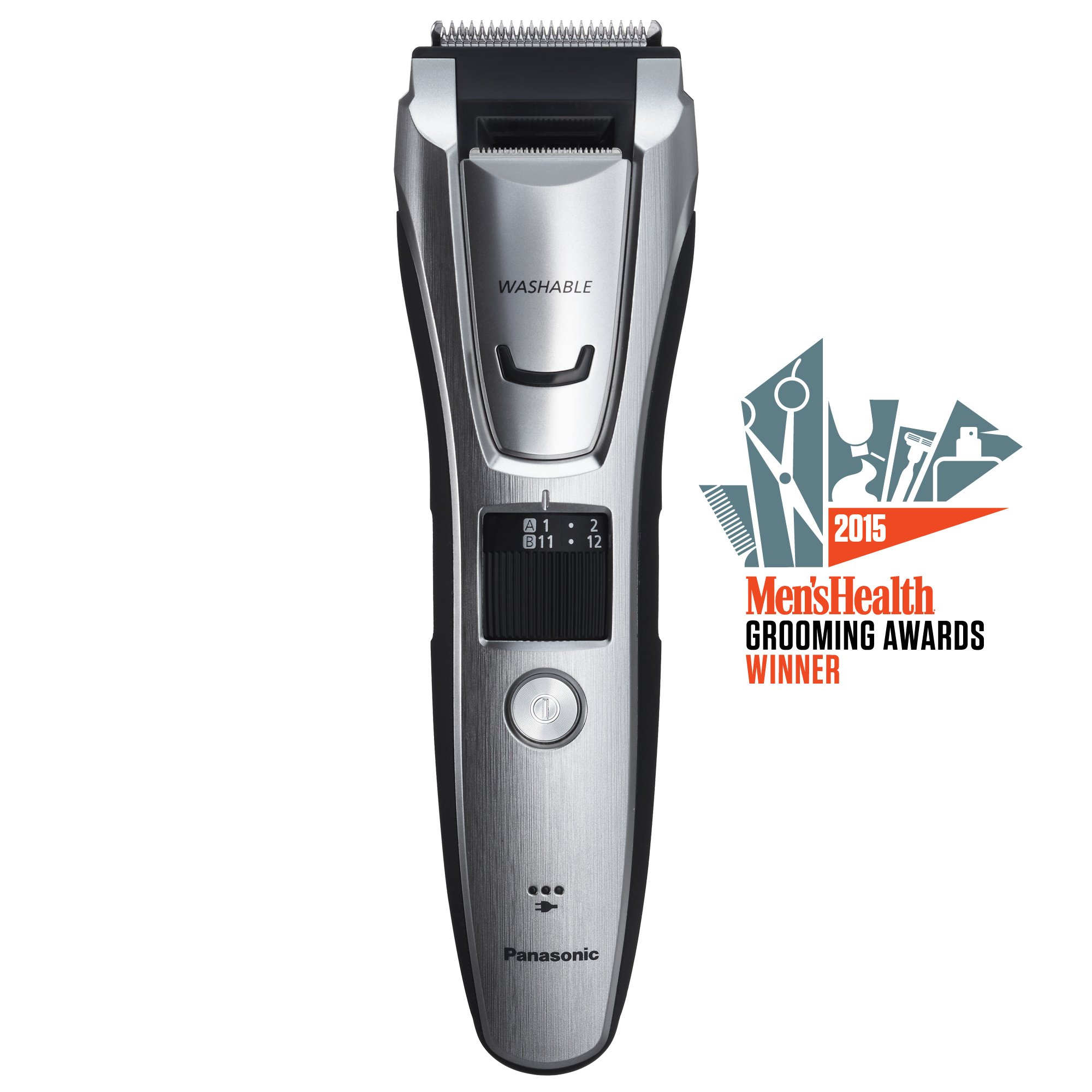 Panasonic ER-GB80-S Body and Beard Trimmer, Hair Clipper, Men's, Cordless/Corded Operation with 3 Comb Attachments and 39 Adjustable Trim Settings, Washable by Panasonic (Image #2)